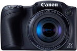 Aparat ultra zoom do 2000 zł Canon PowerShot SX410 IS czarny