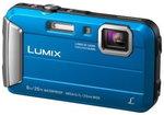 Aparat kompaktowy do 500 zł Panasonic Lumix DMC-FT30 niebieski
