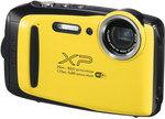 Aparat kompaktowy do 500 zł Fuji FinePix XP 130 żółty